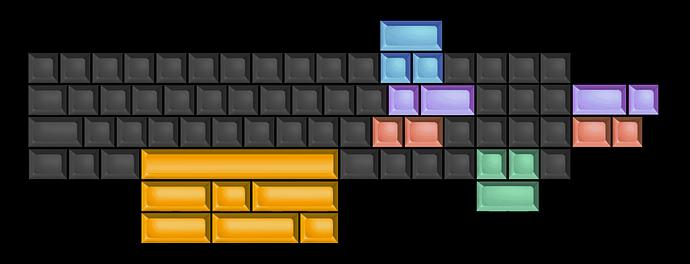 Lyra Alpha layout