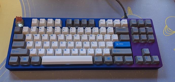 Leaf80 with True Olivetti