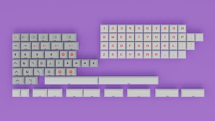 8-Bit Kit Key SizesQ