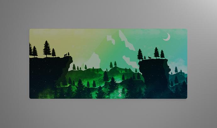 green render