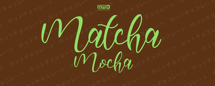 Matcha Mocha signature new 5