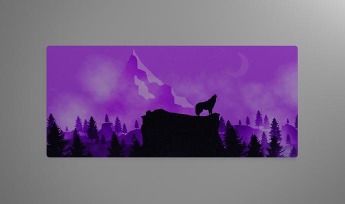 purple render