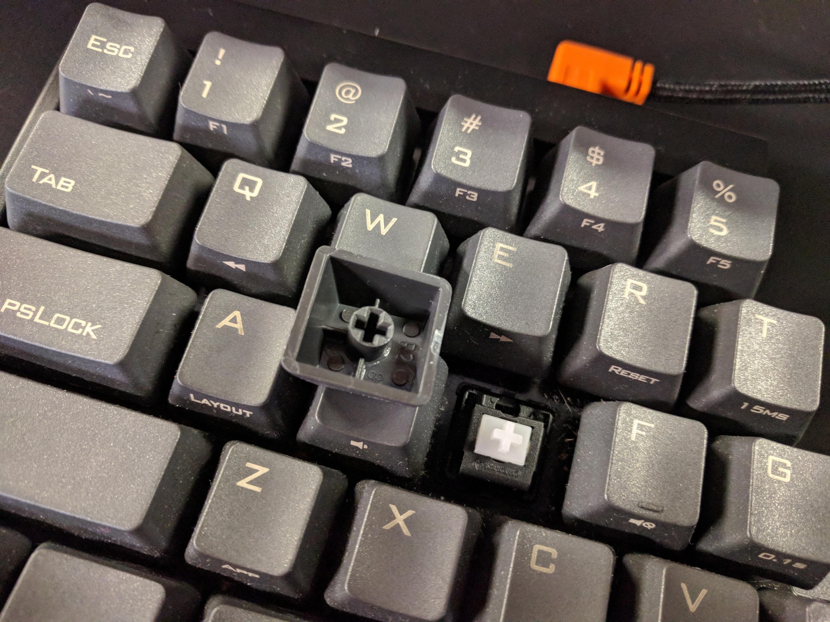 Laser engraved keycap protection - Keycaps - KeebTalk