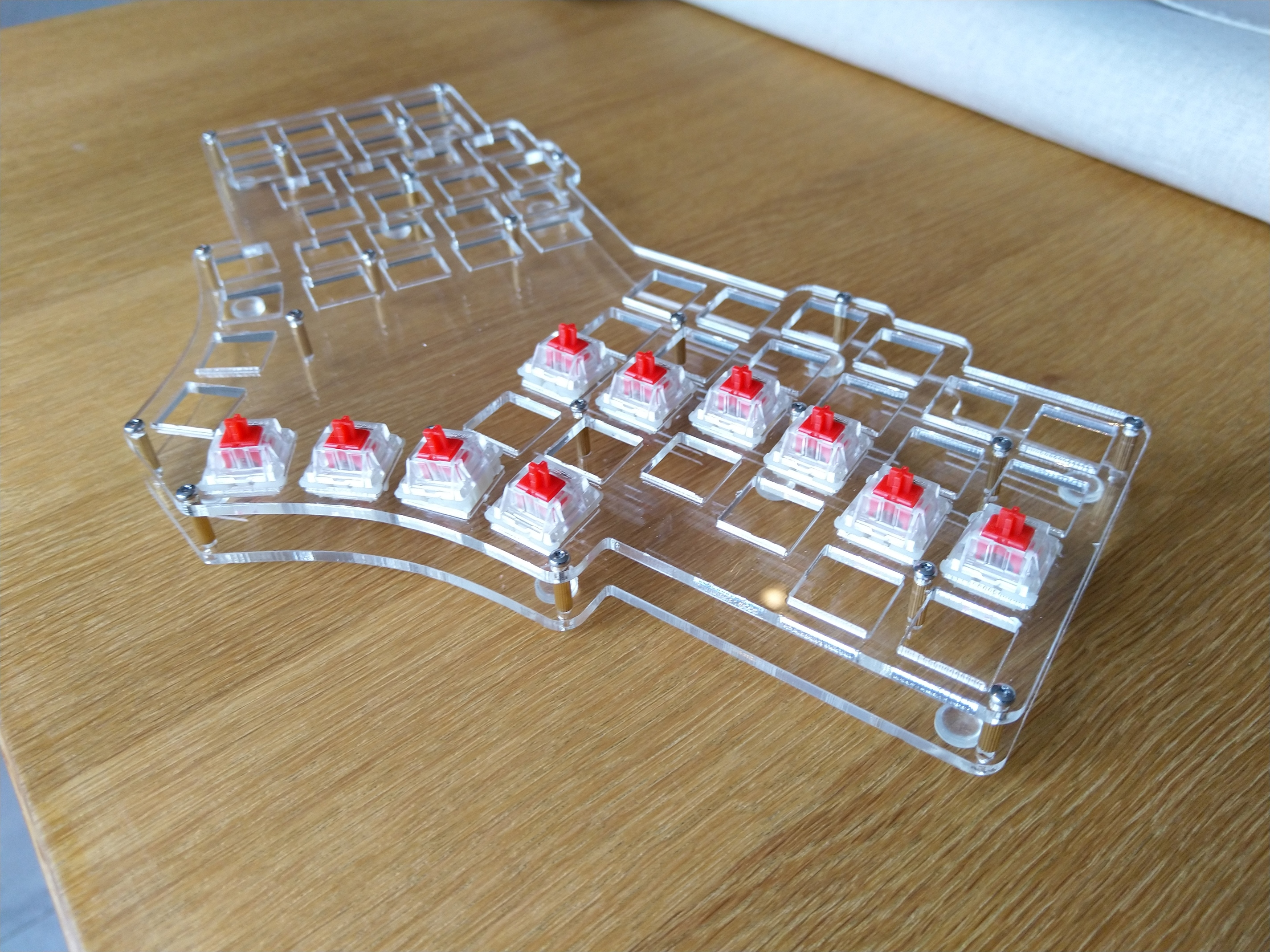 Are there any creative Ortholinear keyboards out there