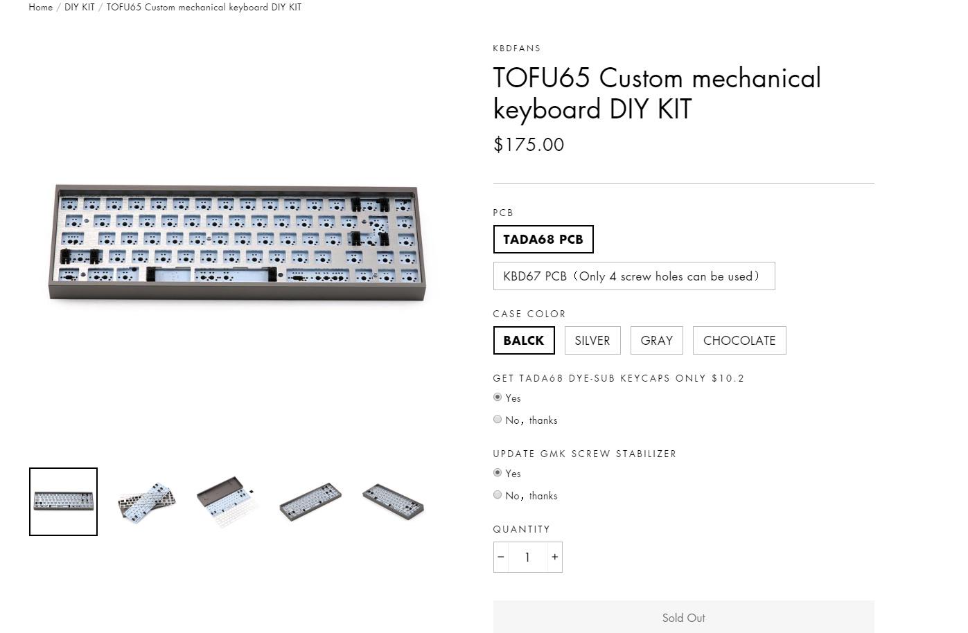 How often does KBDFans restock? - Custom keyboards - KeebTalk