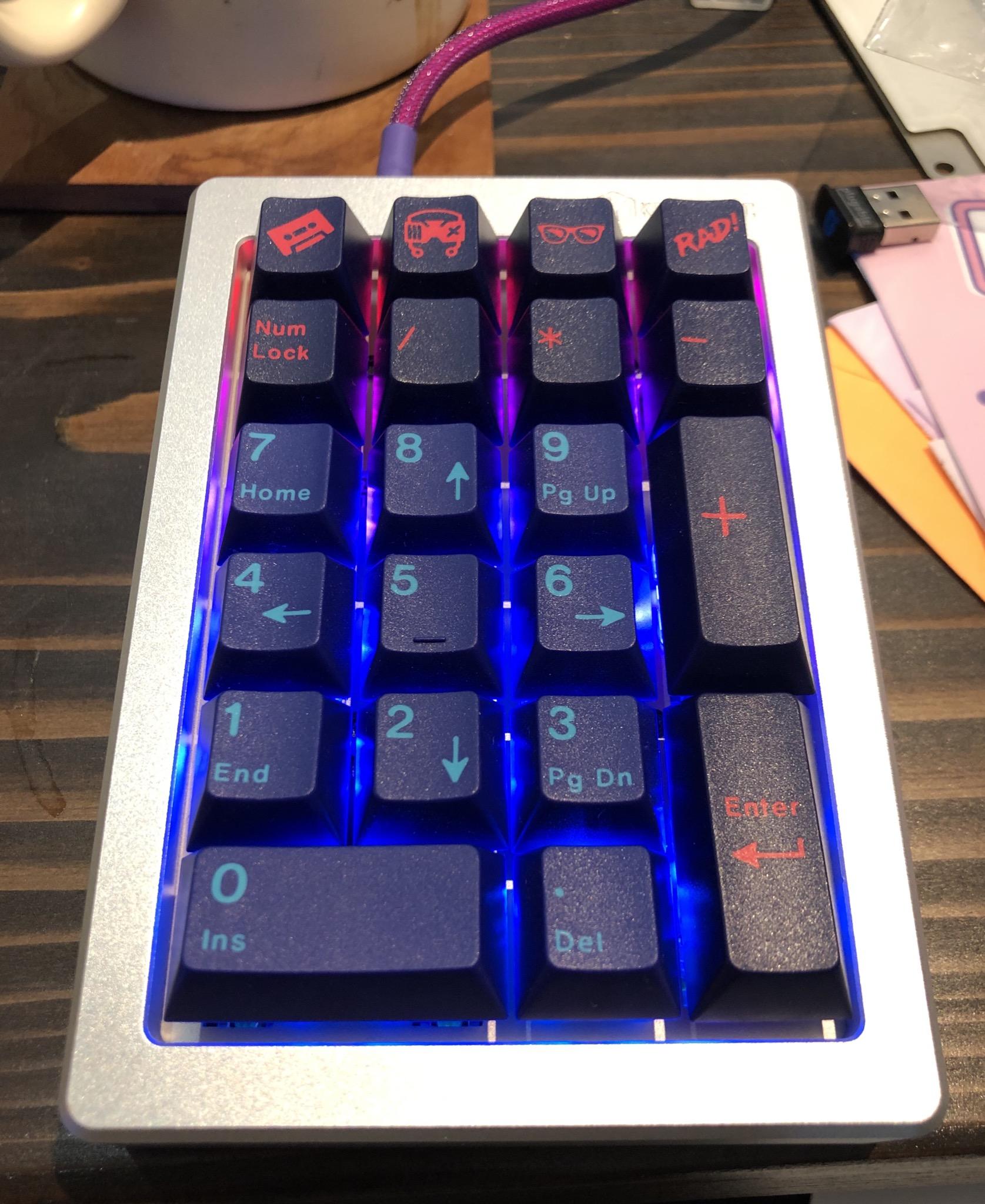 New LFKPad
