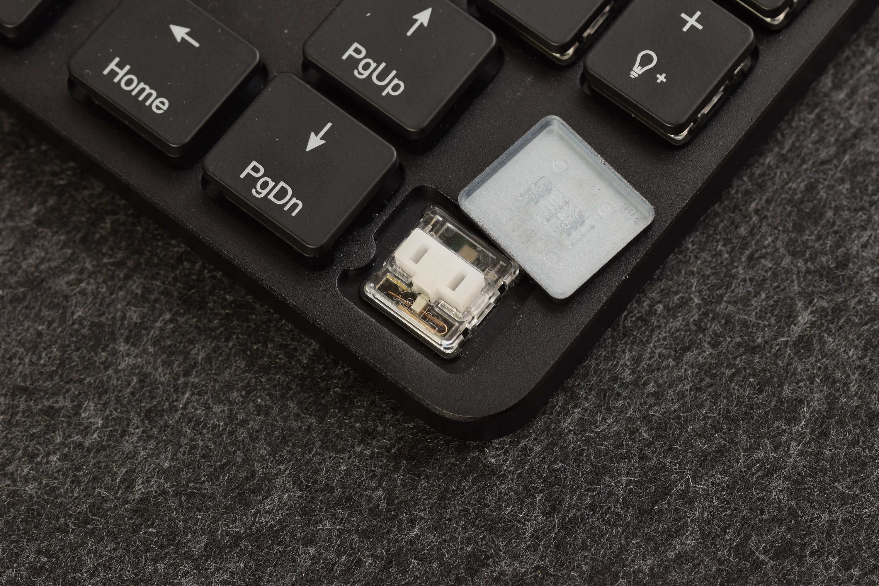 I've been using Kailh Low Profile Switches exclusively for a year