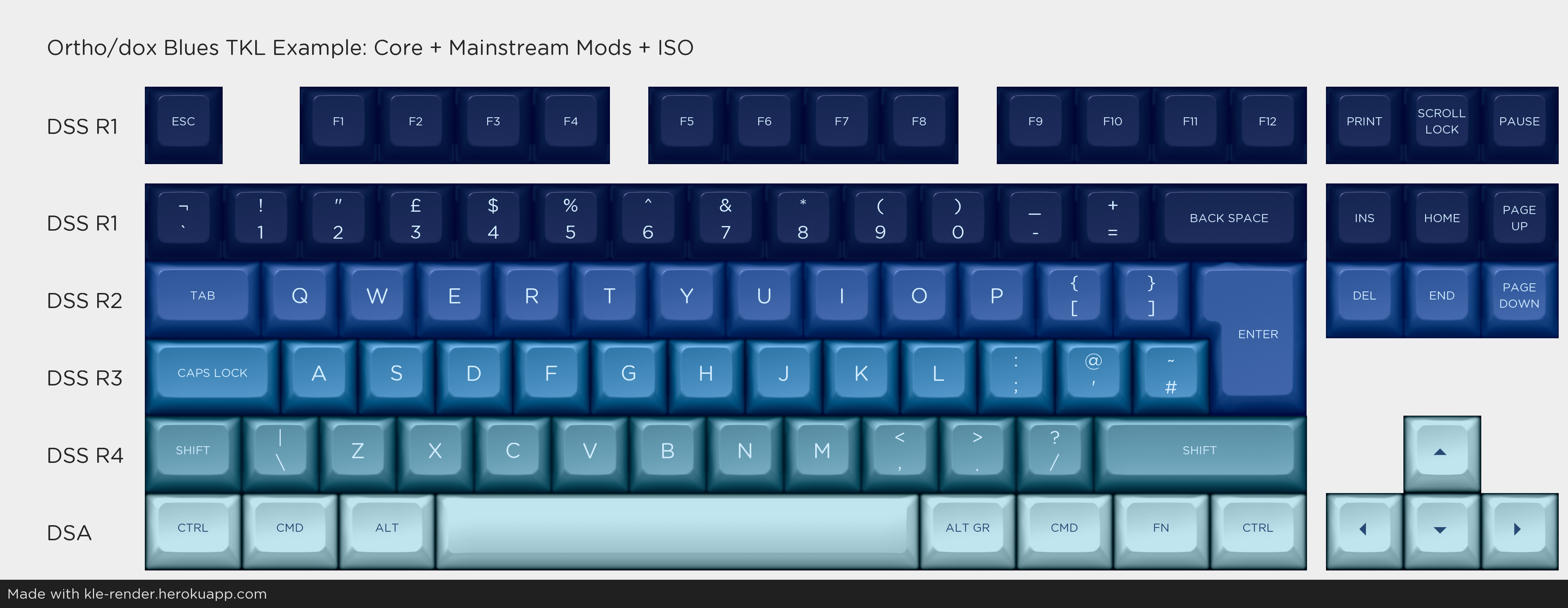 TKL with ISO