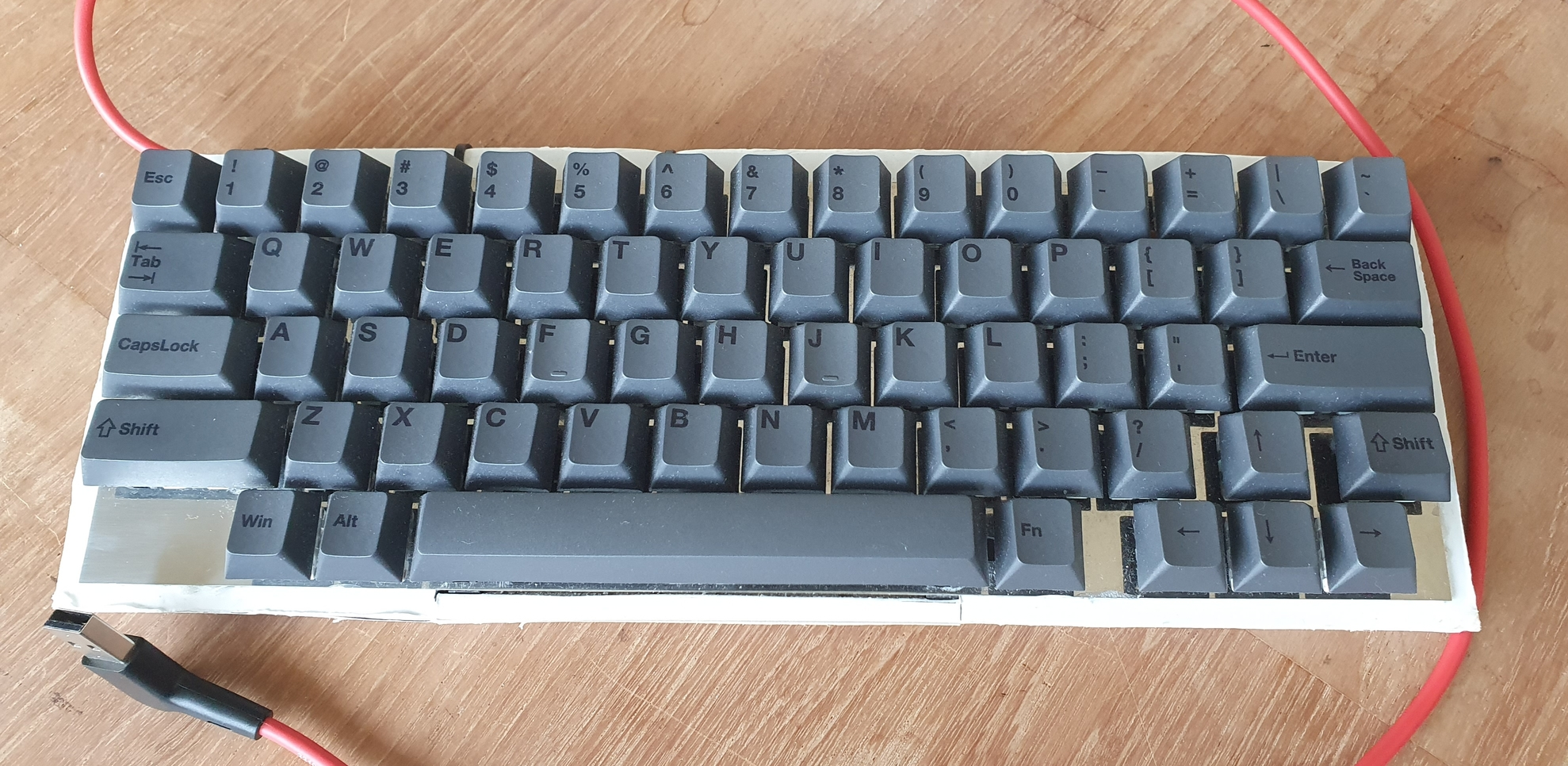 60 Hhkb Like Layout But With Dedicated Arrows Key Layouts