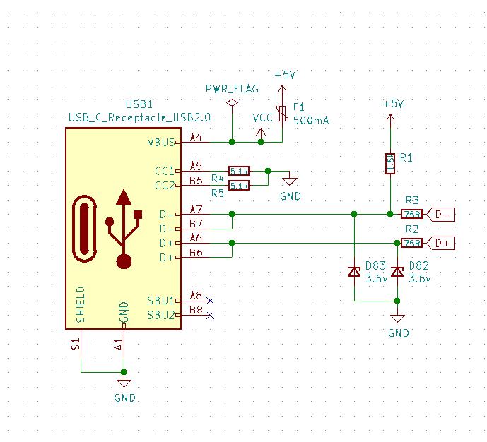 USB C Schematic